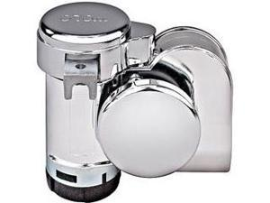 Model 519 Bad Boy(TM) Chrome 1-Piece Dual Tone Air Horn with 118dB (530/680Hz)