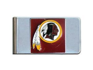 WA Redskins Moneyclip - Large