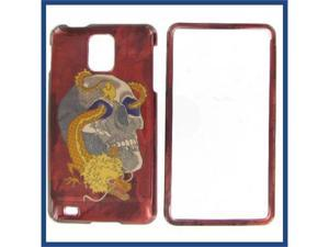 Samsung i997 (Infuse 4G) Skull w/Dragon Protective Case