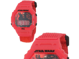 Star Wars Kids' Darth Maul Digital Wrap Strap Watch