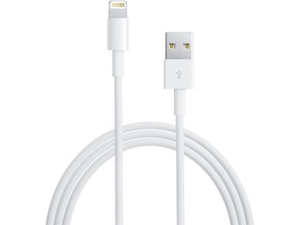Apple MD818 USB to 8-Pin Lightning Data Cable, MD818ZM/A, ME188LL/A, AT&T No. 42092