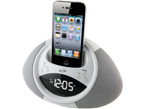 ILIVE ICP122W IPHONE(R) & IPOD(R) CLOCK RADIO