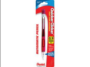 Pentel PD349BPK6 Quicker Clicker Mechanical Pencil #2, HB Pencil Grade - 0.9 mm Lead Size - Assorted Barrel - 1 / Pack