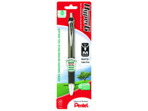 HyperG Recycled Retractable Gel Pen 1 Pk*12
