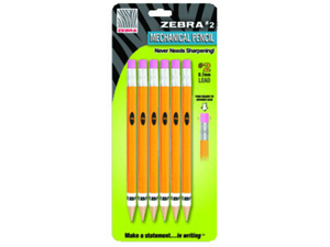 #2 Mechanical Pencil 6 Pk*6