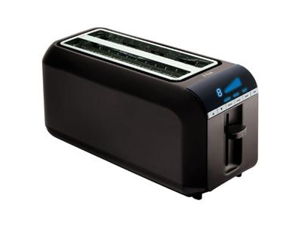 Digital 4 Slice Toaster Black
