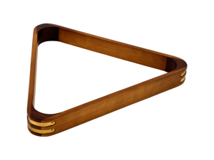 Eight Ball Billiard Rack with Oak Finish by TGT