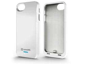 Lenmar Meridian 2200mAh Battery Case for iPhone 5 (White)