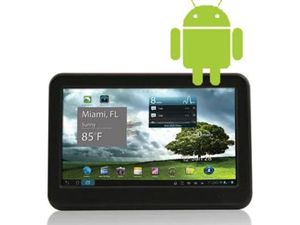"Mach Speed TRIO43MID40C 512MB DDR Memory 4GB 4.3"" Touchscreen Tablet PC Android 4.0 (Ice Cream Sandwich)"