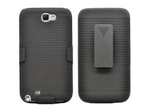 Samsung Galaxy Note II Holster Combo, Black