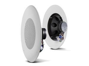 Ceiling Speaker w/Grill - 20W 8in Dual Cone 8ohm / 70V