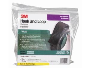 TB3000 Self-mating Hook and Loop Fasteners - Black