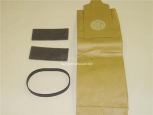 Euro-Pro Shark UV204, UV180 Upright Vacuum Cleaner Bags (4), Filters (2) & Belt (1), Part Number XSD204