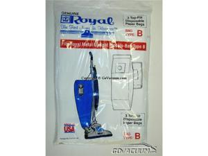 Royal 3-067247-001 Standard Paper Bags - 3pack - Metal Upright - Type B Part# 3-067247-001