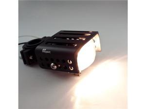 eMark universal motorcycle ONE fog Light lamp Halogen 55W 12V square clear glass