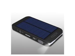 Solar Charger - Ultra Thin Solar Powered Backup Battery and Charger for Cell Phones, iPhone, iPod, and Most USB Powered Device