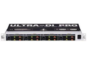 Behringer DI4000 Active 4 Channel Direct Box Direct Injection DI Box
