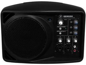 Mackie SRM-150 5In Compact Active Pa System- Black Powered Full Range Speaker