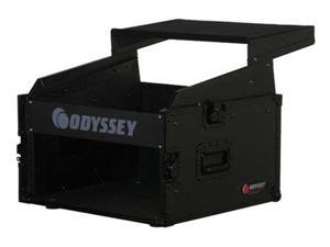 Odyssey FRGS806BL 10Sp x 6Sp Combo Rack W/Platfo Top Load Rack With Laptop Mount