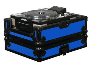 Odyssey FRCDJBKBLUE Lrg Format CD Plyr Case (Blu Single Table Top CD / DVD Player Case