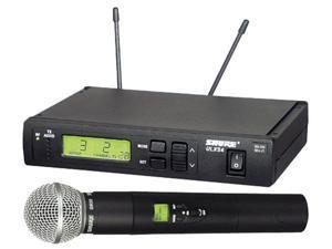 Shure ULXS-2458 UHF Wireless Mic System With SM58 UHF Handheld Wireless Mic System