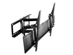 Loctek Black Full Motion Tilt Swivel Articulating Flat Panel TV Wall Mount Bracket for 42''-65'' LCD/LED/PDP TV
