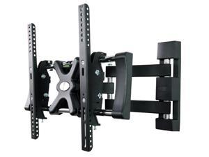 Loctek Black Articulating LCD LED TV Wall Mount Bracket for 32''-42'' TVs up to 35kg