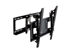 Homemounts HM004A Black Low Profile Steel Articulating Wall Mount Bracket for 23''-42'' TV