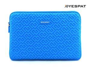 Yespat BY001 Waterproof Neoprene Laptop Sleeve Carrying Case for Macbook Air 11.6'' (Blue)