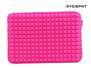 Yespat BY0010 Waterproof Neoprene Laptop Sleeve for Macbook Air 11.6'' (Pink)