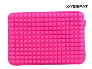 YESPAT BY012 Pink Neoprene Sleeve Carrying Case Bag for Macbook Air 13.3'' Laptop/Netbook Water Proof