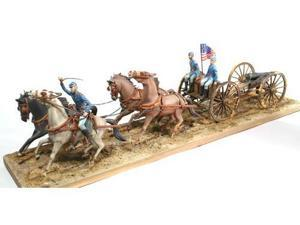 Lindberg 1:16 Scale Horse Drawn Union Field Artillery