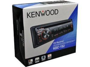 Kenwood KDC-152 In-Dash CD/MP3 Car Receiver