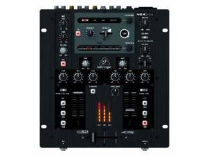 Behringer NOX202 PRO Mixer Premium 2-Channel DJ Mixer with Optical VCA Crossfader, Beat-Syncable FX and USB Interface