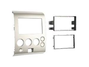 Metra 95-7406 Double DIN Installation Dash Kit for 2004-2007 Nissan Titan and 2004-2005 Nissan Armada