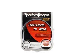 Rockford Fosgate Rfi2sw Speaker Line to Rca Adapter