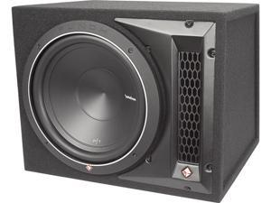 Rockford Fosgate - P1-1X12 - Ported Subwoofer Enclosure Loaded