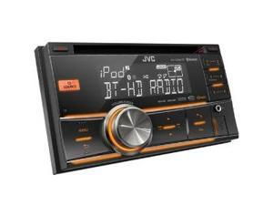JVC KW-HDR81BT Double-DIN Car CD receiver with Bluetooth, HD Radio, iPod Capable