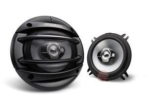 "Kenwood KFC-1364S 5-1/4"" 3-Way Sport Series Coaxial Car Speakers"