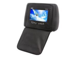 Absolute COM-715IRB 7.5- Inches Headrest Pillow with Zipper Cover, TFT/LCD Color Monitor, Built-In IR Transmitter and Remote ...