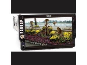 Absolute DMR-710 Single DIN In-Dash 7 TFT-LCD Touchscreen Monitor with DVD MP3 CD Receiver USB and AUX Input