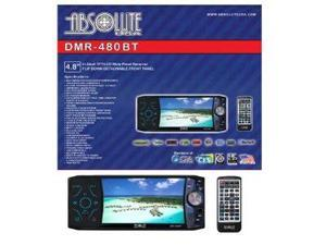 Absolute DMR-480BT 4.8-Inch In-Dash Multimedia Touch Screen System with Detachable Front Panel Face and Built Bluetooth USB/SD