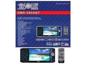 Absolute DMR-480ABT 4.8-Inch In-Dash Multimedia DVD Player Touch Screen System with Bluetooth, Analog TV Tuner and USB/SD ...