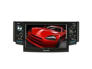 Absolute ATV50 In-Dash 5-Inch LCD Touchscreen DVD Receiver with USB, SD Card Slot, CD, MP3 playback, and Aux Input