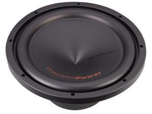 "Precision Power BI.12412"" Dual 4 Ohm Black Ice Series Car Power Subwoofer"