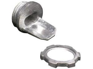 Wiremold 5781 500/700 Box Connector (Galvanized) Fitting