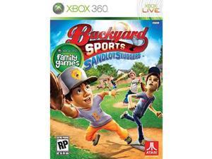 Backyard Sports - Sandlot Sluggers Xbox360 New