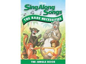 Sing Along Songs - The Bare Necessities - The Jungle Book DVD New