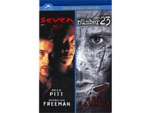 Seven / The Number 23 (Double feature) DVD New