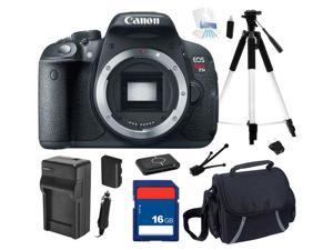 Canon EOS Rebel T5i 18.0 MP CMOS Digital Camera with 3-inch Touchscreen and Full HD Movie Mode (Body Only), Beginner's Bundle ...